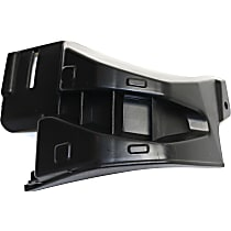 Replacement Bumper Guard - REPT016701 - Textured, Plastic, Direct Fit, Sold individually