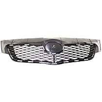 Grille Assembly - Textured Black Shell and Insert, North America Built Vehicle