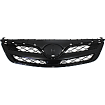 Grille Assembly - Painted Black Shell and Insert, CE/L/S Models