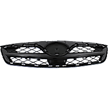Grille Assembly - Painted Black Shell and Insert, CE/L/S Models, CAPA Certified