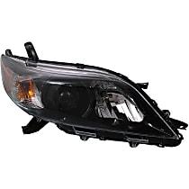Passenger Side Halogen Headlight, With bulb(s) - 11-14 Sienna (SE Model)