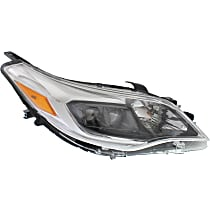 Passenger Side Halogen Headlight, With bulb(s) - (Exc. Limited/Hybrid Limited)