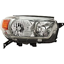 Headlight - Passenger Side, For Trail Package, CAPA Certified