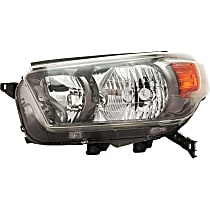 Headlight - Driver Side, For Trail Package, CAPA Certified