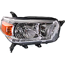 Headlight - Passenger Side, Without Trail Package, CAPA Certified