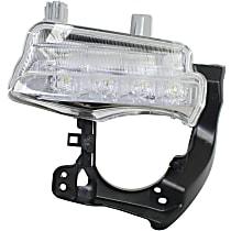Passenger Side Driving Light - LED Type, CAPA CERTIFIED