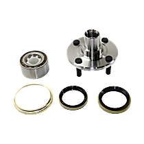 Front Wheel Hub Bearing Assembly Driver or Passenger side For Non-ABS Models