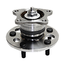 Rear, Driver or Passenger Side Wheel Hub And Bearing Assembly, For FWD, Non-ABS