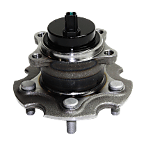 Rear Wheel Hub Bearing Assembly Driver or Passenger Side, For FWD