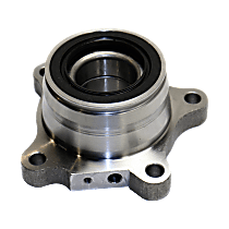 Rear, Passenger Side Wheel Hub and Bearing Assembly For RWD/4WD