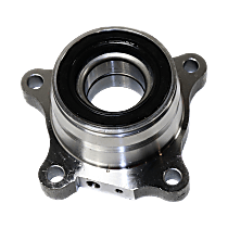 Rear, Driver Side Wheel Hub and Bearing Assembly For RWD/4WD