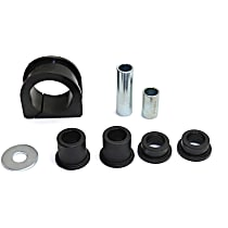 Replacement REPT289512 Steering Rack Bushing - Black, Rubber, Direct Fit, Kit