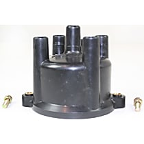 Replacement REPT314108 Distributor Cap - Black, Direct Fit, Sold individually