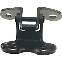 Door Hinge - Front, Passenger Side, Lower, Black, Steel, Direct Fit, Sold individually