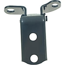 Door Hinge - Rear, Passenger Side, Lower, Black, Steel, Direct Fit, Sold individually