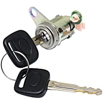 Replacement REPT507204 Door Lock Cylinder - Chrome, Direct Fit, Sold individually