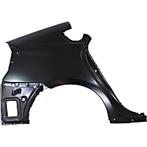 Replacement Quarter Panel - REPT550103 - Passenger Side, Outer, Primed, Direct Fit, Sold individually