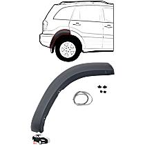 Fender Trim - Rear, Passenger Side, Paint to Match, Rear Section (Mounts on Quarter Panel)