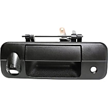 Tailgate Handle - Textured Black, For Models With Rear View Camera