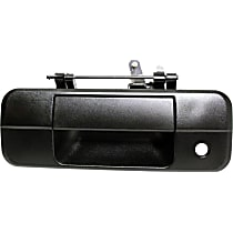 Tailgate Handle - Textured Black, For Models Without Rear View Camera