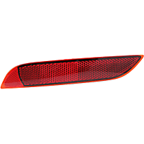 Rear, Dirver Side Bumper Reflector