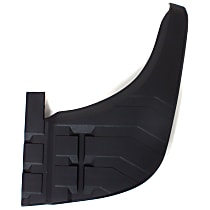Rear, Passenger Side Bumper Step Pad, Black