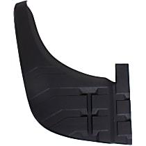Rear, Driver Side Bumper Step Pad, Black