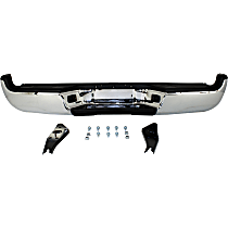 Chrome Step Bumper, w/ Mounting Brackets, w/ Step Pads, w/ SR5 Package or Limited Package Models