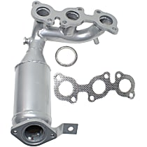 Front Radiator Side Catalytic Converter with Integrated Exhaust Manifold For Models with 3.3L Eng 46-State Legal (Cannot ship to CA, CO, NY or ME)