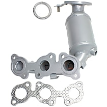 Catalytic Converter - 47-State Legal (Cannot ship to CA, NY or ME) - Radiator Side
