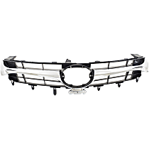 Grille Assembly - Textured Black Shell and Insert, Except Hybrid Model
