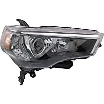 CAPA Certified Passenger Side Headlight, Without bulb(s)