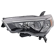 CAPA Certified Driver Side Headlight, Without bulb(s)