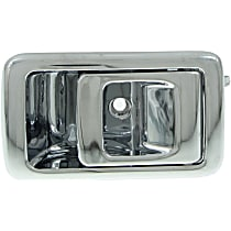 Interior Door Handle, Chrome Front or Rear, Passenger Side