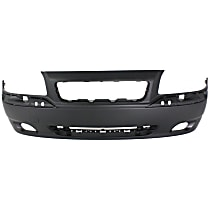 Front Bumper Cover, Primed - w/ Molding Hole