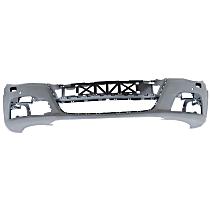 Front Bumper Cover, Primed - w/ Park Sensor & Headlight Washer Holes