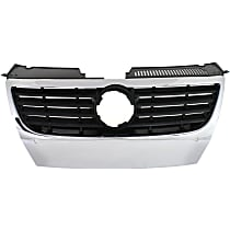 Grille Assembly - Chrome Shell with Black Insert, with Park Distance Control System, without Park Assist System, without Chrome Insert Molding
