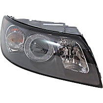 Headlight - Passenger Side, 2004-2007 Style, With Bulb(s)