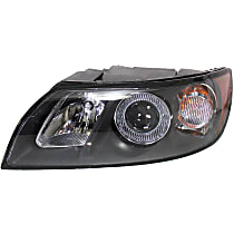 Headlight - Driver Side, 2004-2007 Style, With Bulb(s)