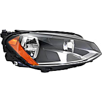 Passenger Side Headlight, With bulb(s) - To 6-30-2014