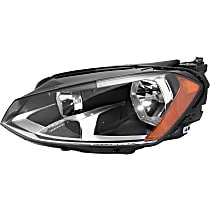 Driver Side Headlight, With bulb(s) - To 6-30-2014