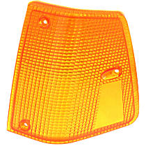 Replacement Turn Signal Lens - REPV106916-HD - Driver Side, Amber, Direct Fit, Sold individually