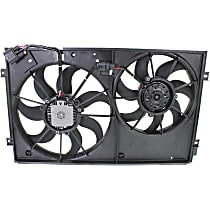 OE Replacement Radiator Fan - Fits 2.5L, w/o Louver-type