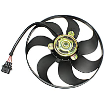OE Replacement Radiator Fan - Driver Side
