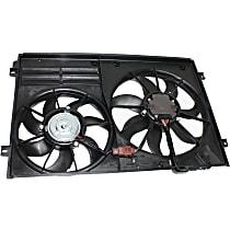 OE Replacement Radiator Fan - w/ Louver-type