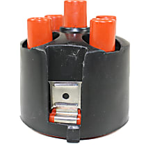 Replacement REPV314103 Distributor Cap - Black and orange, Direct Fit, Sold individually