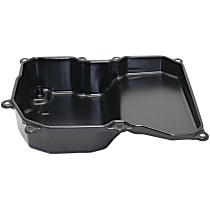 Replacement REPV318601 Transmission Pan - Black, Steel, Direct Fit, Sold individually