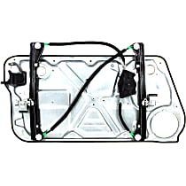 Front, Passenger Side Power Window Regulator, Without Motor - Hatchback