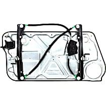 Front, Passenger Side Power Window Regulator, Without Motor - Hatchback