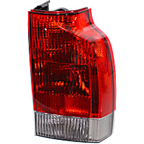 Passenger Side, Lower Tail Light, With bulb(s) - Clear Lens